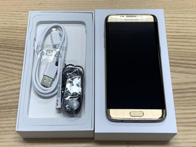 Samsung S7 Edge Gold - As New